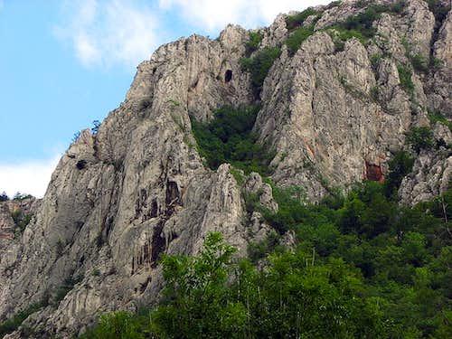 Orlia Basta (Eagle's tower) at the entrace of Zadielska Dolina
