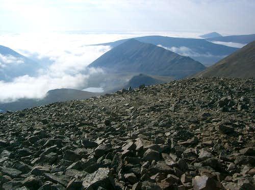 Kuss Peak, Mosquito Peak, Treasurevault Mountain, Mount Tweto, Mount Evans B, London Mountain