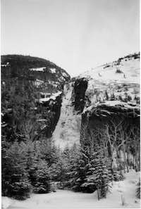 The Trap Dike on Mt. Colden...