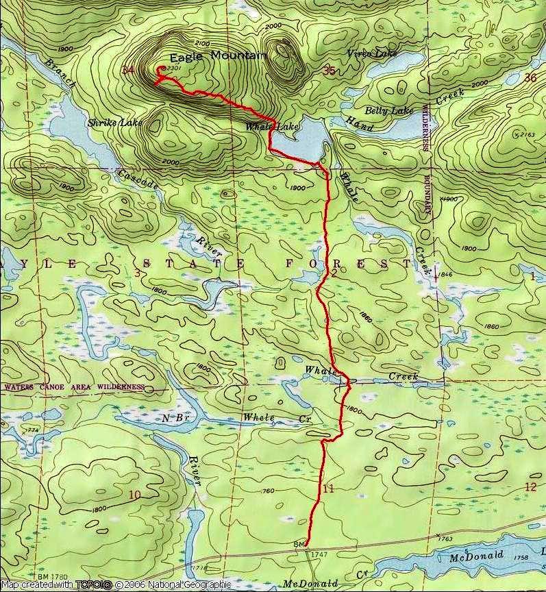 Eagle Mountain route