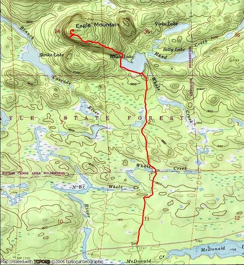 Eagle Mountain route