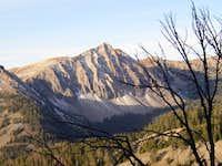 Croesus Peak located...