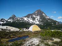 Camp on Mt Burman