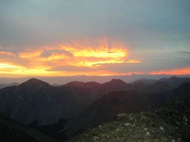 Sunrise from the Summit 8-28-03