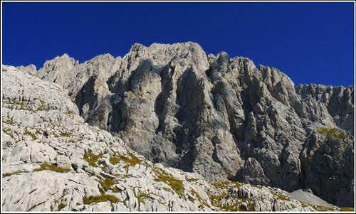 Creta della Cjanevate/Kellerspitzen - south face