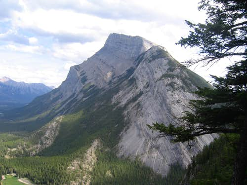 Mt Rundle, Banff, Alberta