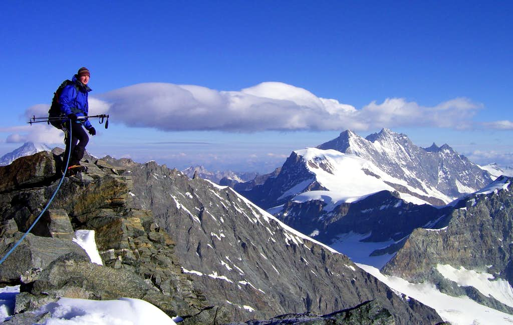 Strahlhorn summit