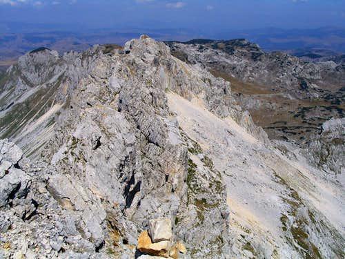 The highest ridge...