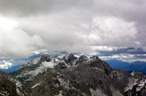 Ojstrica, summit view