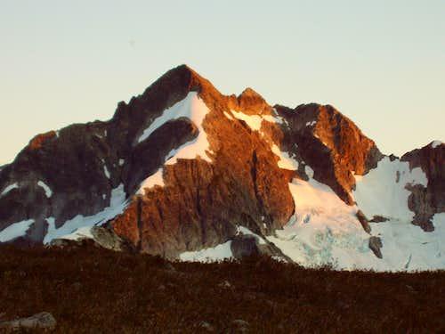 Alpenglow on Whatcom Peak