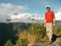Gorgeous view from Mountain Machu Picchu