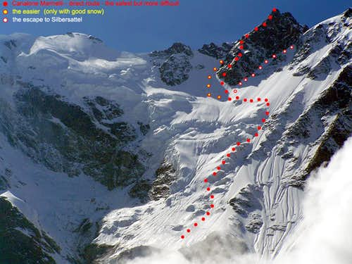 Epiphany on Monte Rosa East wall