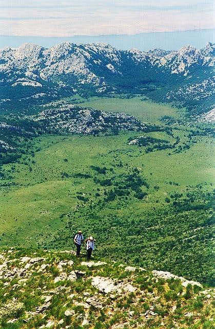 On the western ridge of...