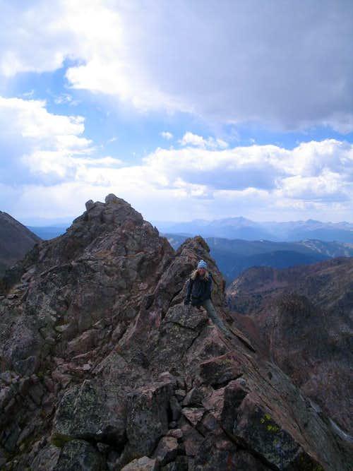Southwest Ridge Scrambling