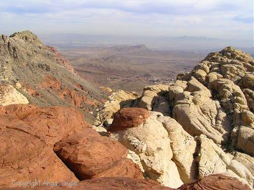 View from Calico Hills