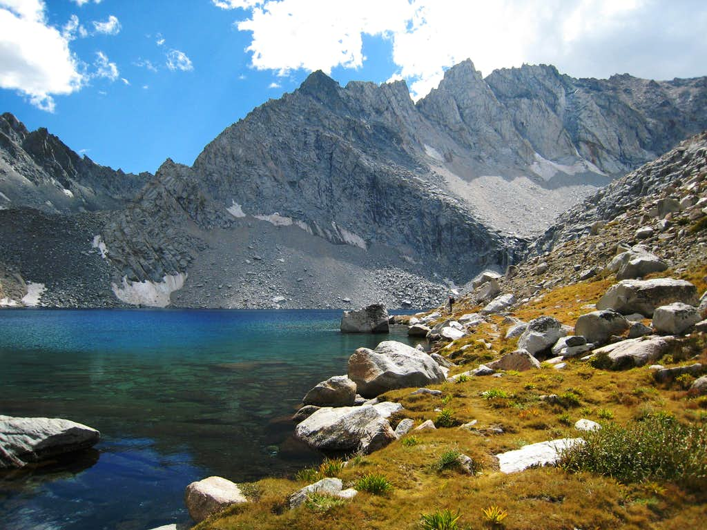 Looking South from Echo Lake (11,602'), Sierra Nevada