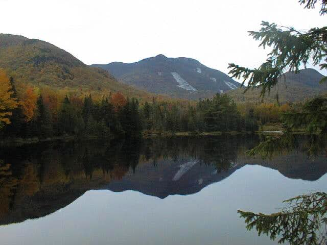 Mt. Colden from Marcy Dam,...