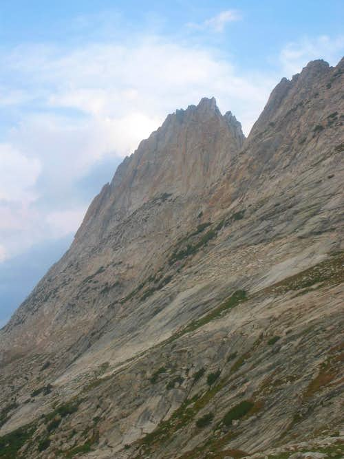 Whorl Mountain from Horse Creek Pass