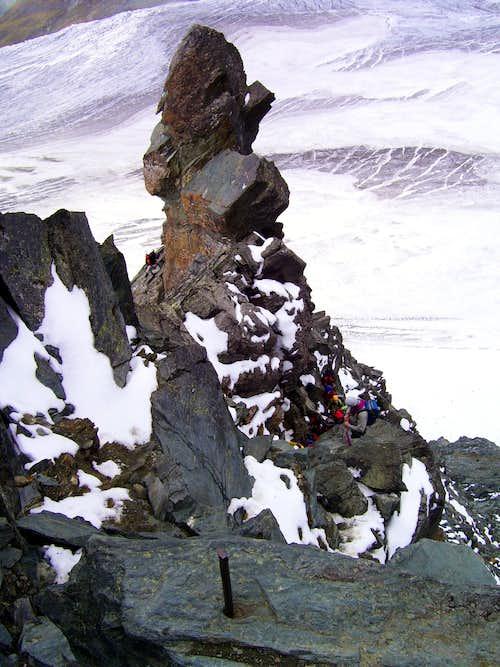 Summit fever on Stuedlgrat
