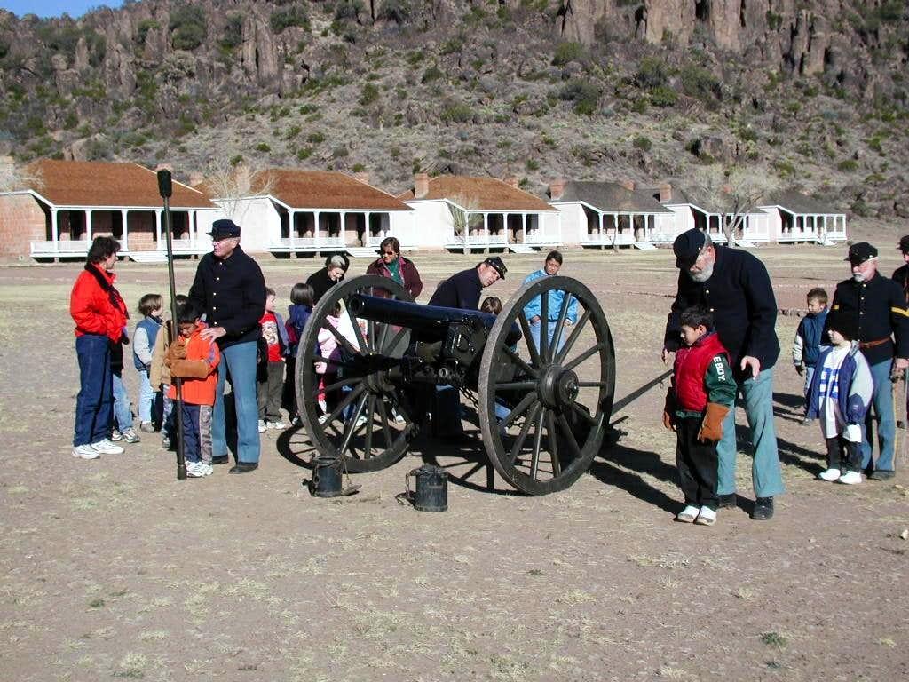 Artillery Demonstration at Fort Davis National Historic Site