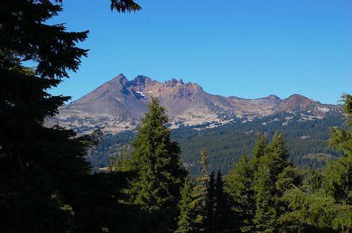 Broken Top from around 6700 feet on Mt. Bachelor