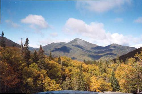 Algonquin Peak (center) from...