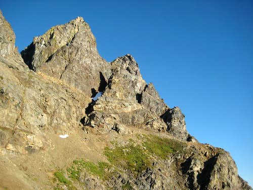 1st East Face traverse