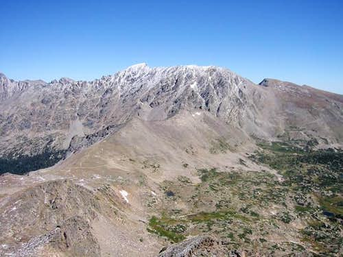 North and South Arapaho Peaks...