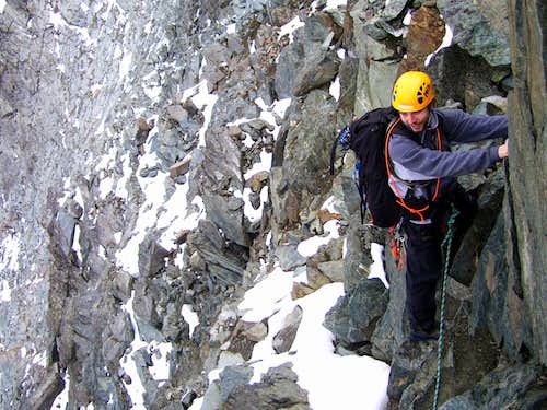 Exposed traverse