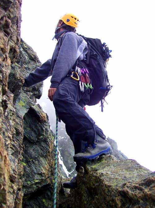 Climbing Stuedlgrat