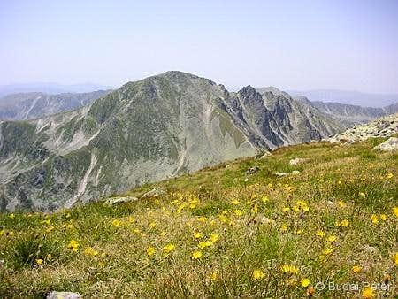 Peleaga peak