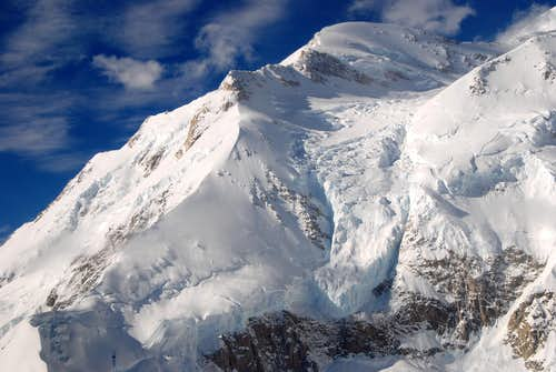 Mount McKinleys Awesome Karsten's Ridge and Harper's Glacier-Alaska Range