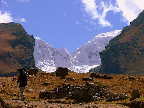Quebrada Llaca, Cordillera Blanca, Peru.