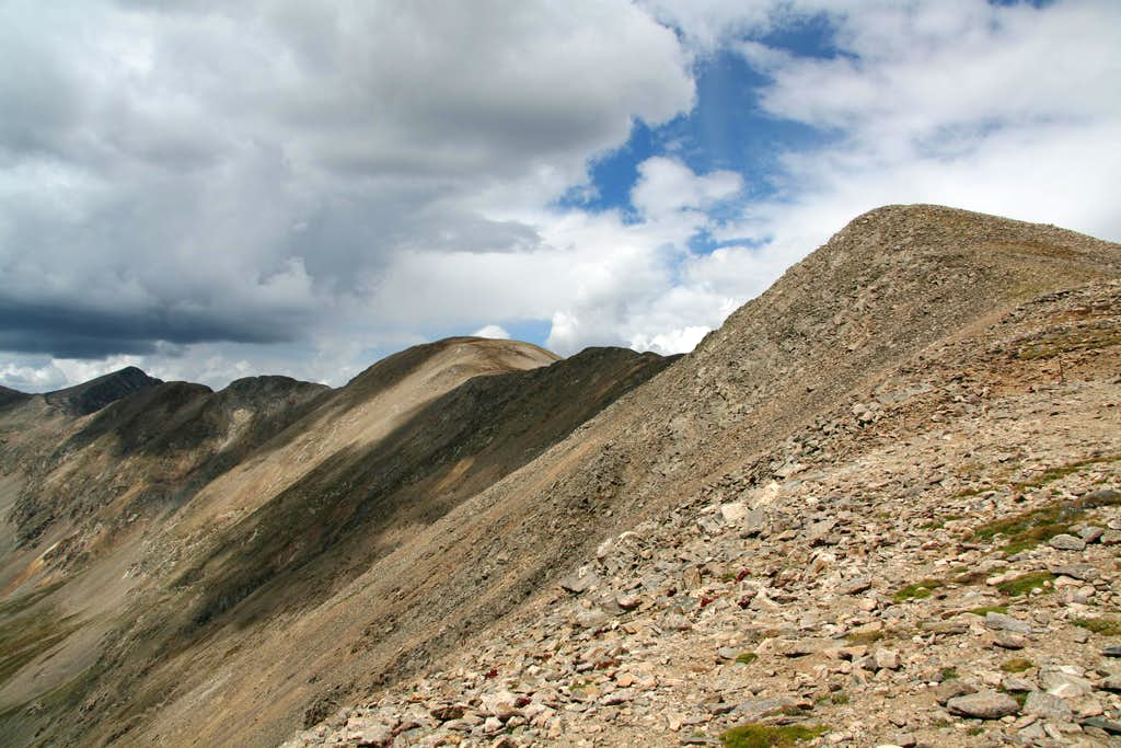 Mount Edwards Route from Argentine Pass