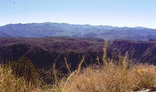 The Chiricahua Range from the...
