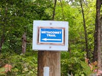 Metacomet Trail Sign