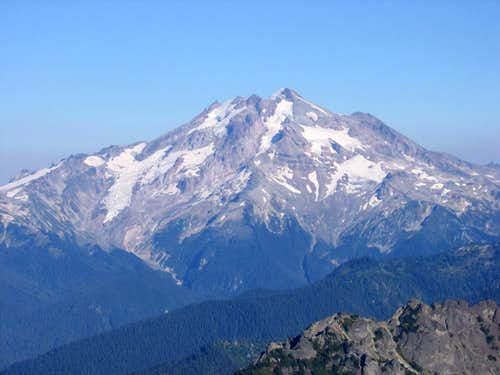 Glacier Peak from Mt Pugh