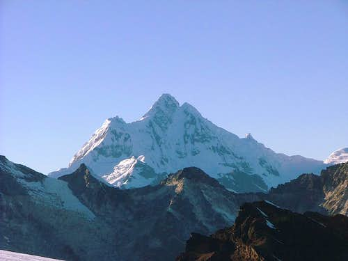 Churup, Cordillera Blanca, Peru.