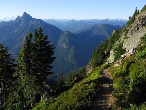 Trail on Mt Pugh