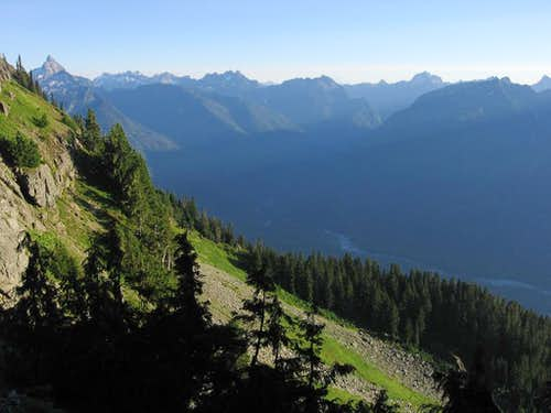 Looking towards Bedal from Stujack Pass