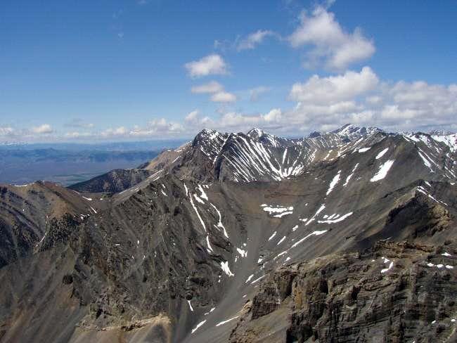 Summit looking Northwest...