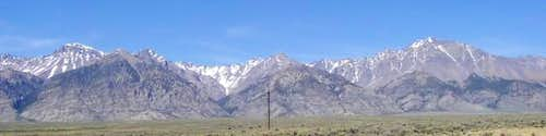 The Lost River Range South...