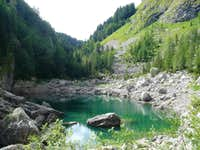 Lake at Triglav NP