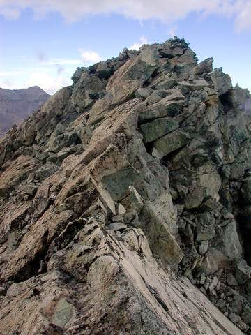 This is the summit of Iron...