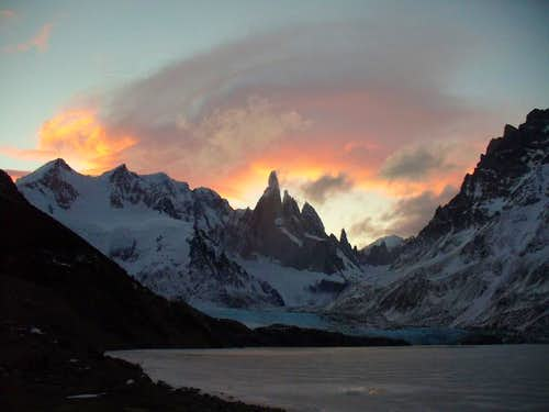 Cerro Torre Sunset