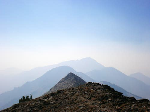 Interesting study in shading from the smoky haze created by wildfires.
