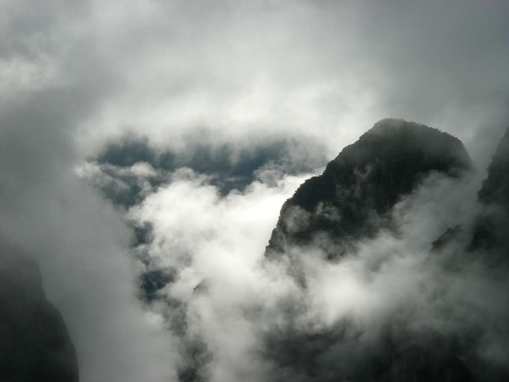 Misty View of