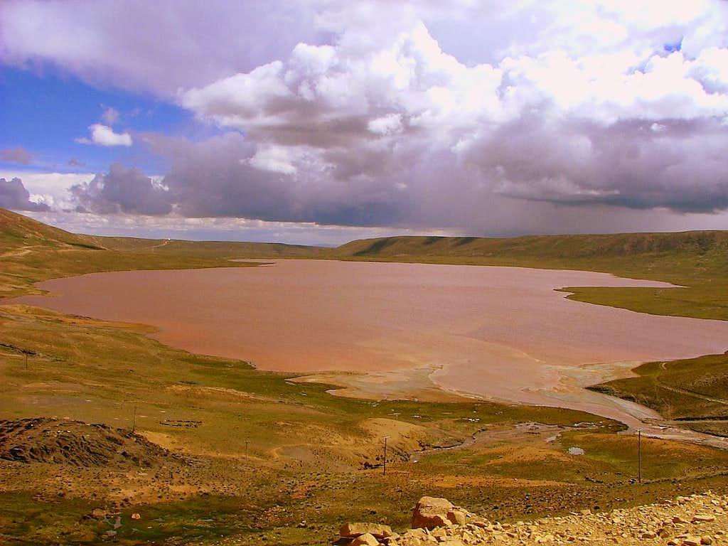 Huayna Potosi, Cordillera Real. Bolivia.