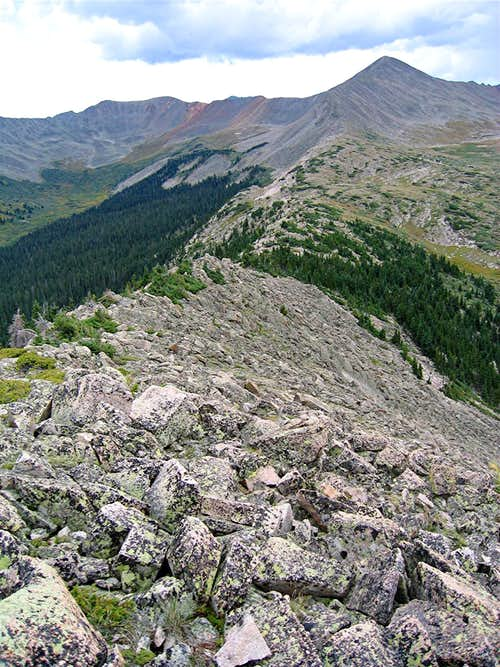 Ridgetop & Peak 13070 ft
