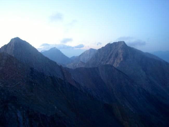 Daybreak from Borah Peak...